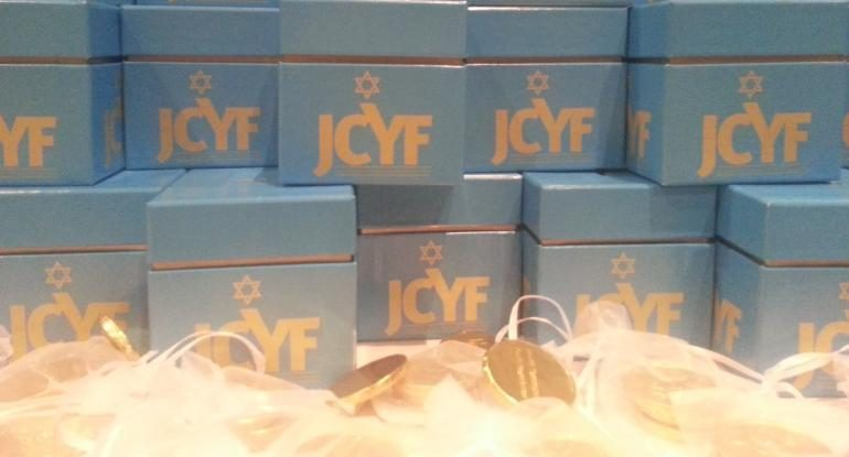JCYF Check Ceremony