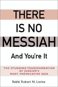 "Nosh & Knowledge Presents: ""There is No Messiah- And You're It"" By Rabbi Robert N. Levine"