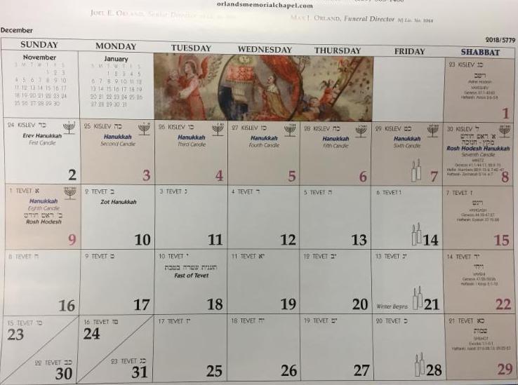 Nosh & Knowledge Presents: The Jewish Calendar.. Its Origins