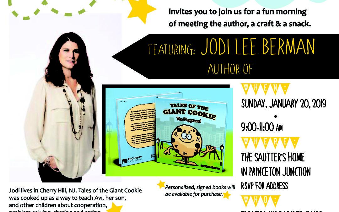 Author Series: Jodi Lee Berman