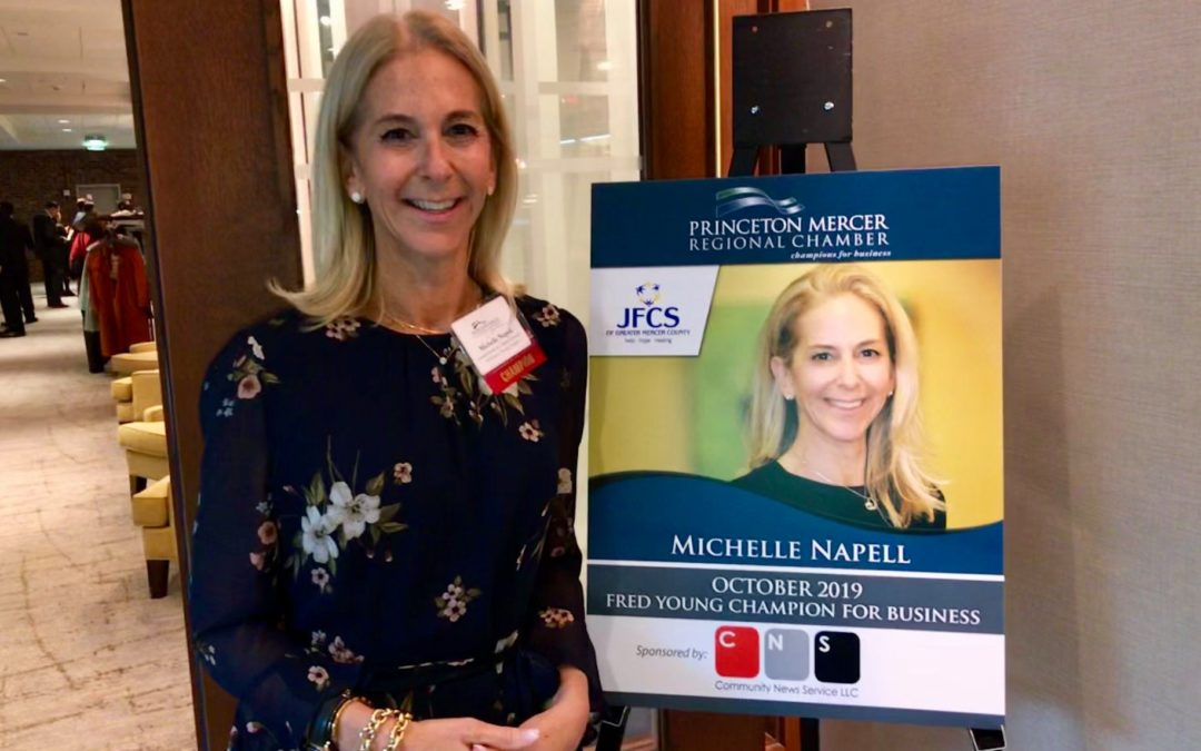 JFCS Executive Director, Michelle Napell, Recognized by Princeton Mercer Regional Chamber