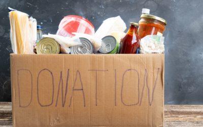 Community Food Drive Through June 30th