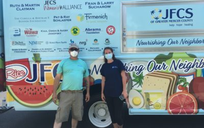 Mobile Food Pantry, Six Months of Service in Mercer County, Reaching over 6,000 in need