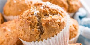 Sweet Potato Applesauce Muffins