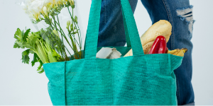 IN THE NEWS! Mercer tote bag giveaway aims to end plastic